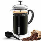 French Press Coffee Maker Press 6 Cup 24 Oz Heat Resistant Glass Easy Cleaning
