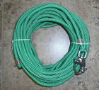 3 8 x 110 ft Kelly Green Dac Polyester Halyard Spliced in S S Snap Shackle