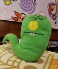 2004 Uglydoll Approx 12 Uglyworm Green Monster Worm Citizen of Uglyverse Plush