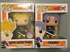 FUNKO POP - Dragonball Z - Trunks Common And 2016 Nycc Exclusive
