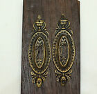4.80 inches 2 pcs Vintage Victorian Garden Key Hole Door Key Hole Plate
