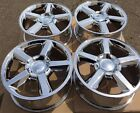 SET FOUR 20 PVD CHROME WHEELS RIMS FIT CHEVROLET TAHOE SUBURBAN SILVERADO NEW