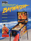 Baywatch Pinball Flyer  / Original Brochure