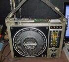 VINTAGE GE MODEL 3-5507C PORTABLE 8 TRACK PLAYER AM-FM BOOMBOX - WORKS