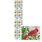 USPS New Songbirds in Snow Press Sheet with Die Cuts