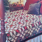 CHRISTMAS PINEAPPLE VINTAGE QUILT PATTERN 2 SIZES PAPER FOUNDATION PIECING