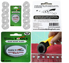 LONG LASTING 10Pack 45mm Rotary Cutter Circular sharp Blades Carbide Tools Steel