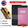 Black For Sony Xperia Z2 L50w D6503 D6502 LCD Display Digitizer Touch Screen US