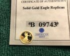 1933 Double Eagle 14k Gold Coin by The American Mint