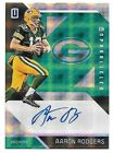 2016 Panini Unparalleled Green #121 Aaron Rodgers Autograph Card #1 1 1 OF 1