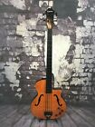Epiphone Zenith Fretless Acoustic Electric Bass Guitar
