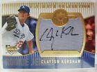2008 Ultimate Clayton Kershaw RC Auto Jersey Gold 5 25 LA Dodgers SSP MVP?