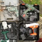 JOBLOT x4 DRILLS CORDLESS BOSCH BLACK AND DECKER WICKES - UNTESTED FREE UK POST