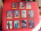 1977 Topps Star Wars 2nd Series 2 Complete 11 Card Red Sticker Set EX+