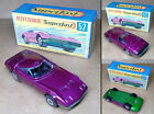 1 VINTAGE 70s MATCHBOX SUPERFAST NO52 DODGE CHARGER MK III MINT IN BOX