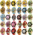 Lindberg & Sons Automatic Watch Piraeus Colourful Leather Bracelet with