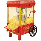 Popcorn Machine Movie Time Theater Kettle Corn Popper Maker Old Fashioned Stand