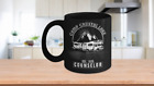 Camp Crystal Lake Cool Camping Mug Counselor Vintage Style Camper Coffee Cup