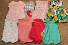 Carters 0 3 13 PC Large Lot EEUC Baby Girl