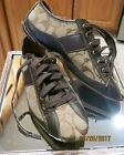 AUTHENTIC COACH WOMENS SNEAKERS SIZE 65 LEATHER CANVAS MONOGRAM