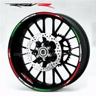 aprilia RSV1000R Factory Rsv-R wheel decals stickers rim stripes rsvr Laminated