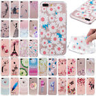 Painting Clear Soft TPU Silicone Ultra Thin Phone Case Cover For iPhone 8 8 Plus