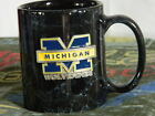 University of Michigan Wolverines Marble Coffee Cup Metal 3D Decal Emblem Logo