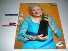 Betty White Signed 8x10 PSA DNA Autograph Golden Girls RARE Hollywood Legend