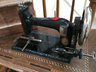 ANTIQUE 1894 OPEL B SEWING MACHINE w PEARL INLAY SEE VIDEO SEWS GREAT
