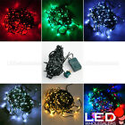 33 ft 100 LED Christmas Xmas Holiday Light String w Multi Function Controller