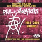 PHILIPPINE VIOLATORS 1984-2004 Volume 1 CD Wuds Wolfgang Eraserheads Rivermaya