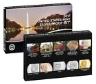 2017 S US Mint Annual Silver Proof Set 10 Deep Cameo Proof Coins