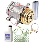 New Air Conditioning Compressor KitAC Compressor w Clutch Drier Oil