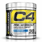Cellucor C4 G4 Explosive Energy Pre-Workout Supplement Icy Blue Razz  30 Serving