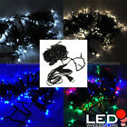 33 ft 100 LED Linkable Christmas Xmas Holiday Light String with Dark Green Wire