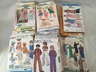 Vintage Lot of 35 Childrens Girls Boy Ladies Nativity Costumes Sewing Patterns