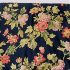 Waverly Harbor Square Multi Floral 2-PC 41 x 69 Drapery Panel and Tieback Set(s)