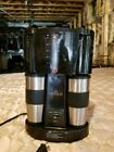 gevalia coffee maker travel with 2 stainless mugs