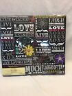 NEW Recollections 12 x 12 scrapbook Live Laugh Love