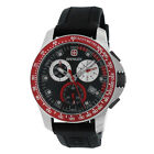 WENGER 70789 MEN'S BATALLION FIELD CHRONOGRAPH BLACK RUBBER WATCH
