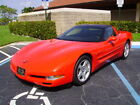 1997 Chevrolet Corvette WITH SELECT A RIDE 1997 CORVETTE TORCH RED WITH BLACK LEATHER GORGEOUS