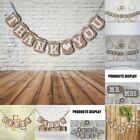 Romantic Bunting Banner for Rustic Country Home Hanging Gift Decor Wedding New