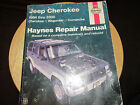 Haynes Repair Manual 1984 - 2000 Jeep Cherokee Wagoneer Comanche #50010 CHILTONS