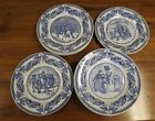 SPODE PLATES Victorian Children Collection Complete set of 4