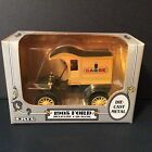 Case 1905 Delivery Car Die Cast Yellow Ertl Truck Bank 1987