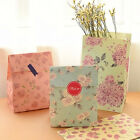3pcs Flower Floral Paper Xmas Party Holiday Cookies Present Bag Gift Bag New