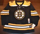 Boston Bruins Adidas Authentic Home NHL Hockey Jersey Size 52