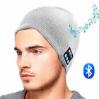 Warm Beanie Hat Wireless Bluetooth Knitted Smart Cap Sport Run Headset Headphone