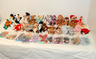 Collection of Beanie Babies 37 Count No Duplicates with Tag Protectors