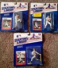 1988 Starting Lineup (lot of 3) MLB STARS Roger Clemens, Wade Boggs, Canseco NM+